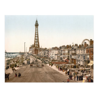 "La ""promenade"", Blackpool, Inglaterra Postal"