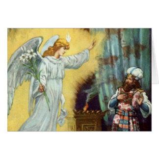 La promesa de dios a Zacharias Felicitación