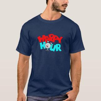 La promoción de la hora feliz de la camiseta hace
