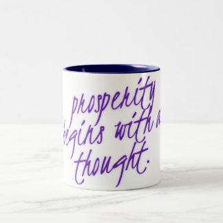La prosperidad comienza con una taza de café del