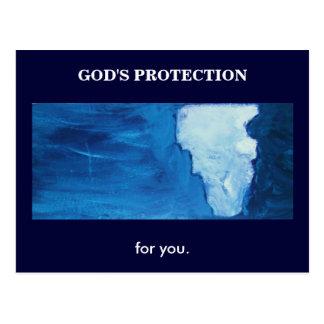 LA PROTECCIÓN DE DIOS (ISAÍAS 41) POSTAL