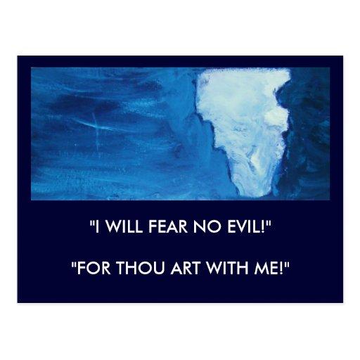 LA PROTECCIÓN DE DIOS (ISAÍAS 41) TARJETA POSTAL