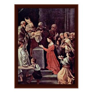 La purificación de la Virgen de Reni Guido Postal
