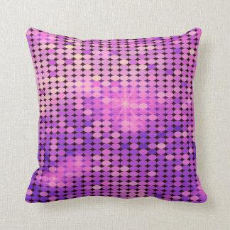 la púrpura chispea almohada de tiro