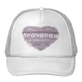 La púrpura del viaje viajó bohemio rústico gorras