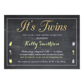 La púrpura hermana la fiesta de bienvenida al bebé invitación 12,7 x 17,8 cm
