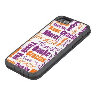La púrpura y el naranja le agradecen redactar la funda tough xtreme iPhone 6
