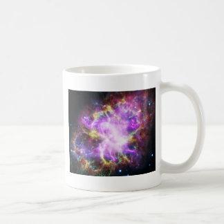 La radiografía de Chandra en la nebulosa de Taza De Café