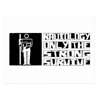La radiología sobrevive postal