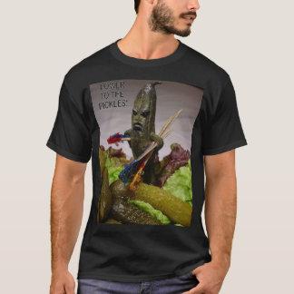 La rebelión de la bandeja del condimento camiseta