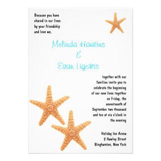 La recepción de las estrellas de mar invita