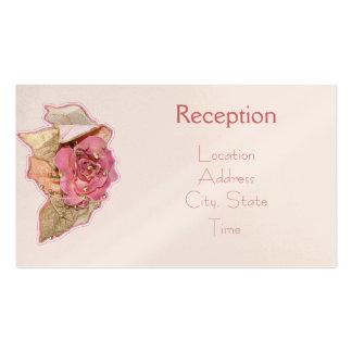 La recepción simple del Victorian invita Tarjetas De Visita