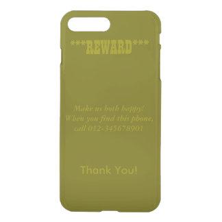 ¡La recompensa, nos hace ambos felices! Llamada, Fundas Para iPhone 7 Plus