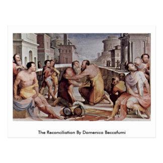 La reconciliación de Domingo Beccafumi Postales