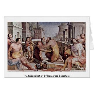La reconciliación de Domingo Beccafumi Tarjeton