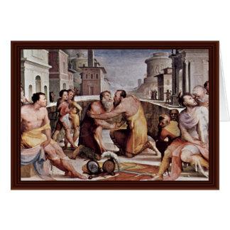La reconciliación de Emilius Leidus con Flavius Tarjetas