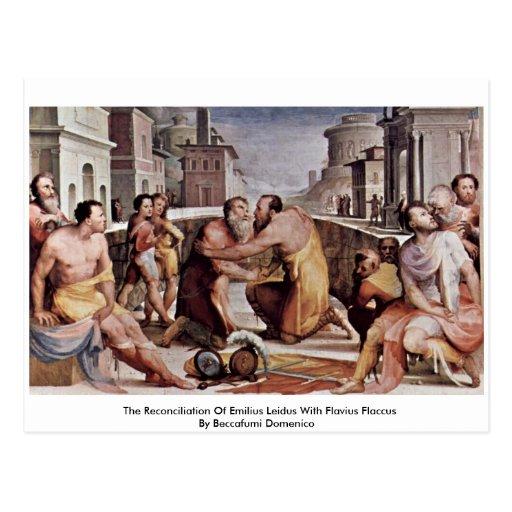 La reconciliación de Emilius Leidus con Flavius Postales