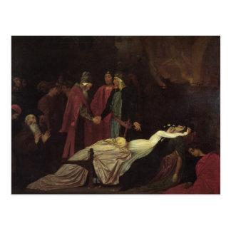 La reconciliación del Montagues y del Capulets Postal