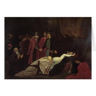 La reconciliación del Montagues y del Capulets Tarjeta De Felicitación