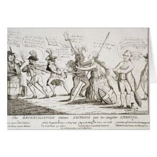 La reconciliación entre Britannia América Tarjetas