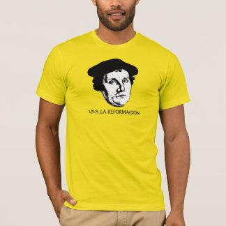 La Reformación - Martin Luther (luz) de Viva Camiseta