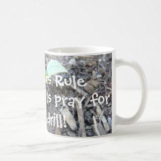 La regla de los profesores taza de café