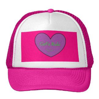 la regla del chica gorras