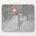 La reina de la nieve alfombrilla de ratón