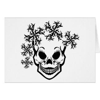 La reina de la nieve tarjeta de felicitación