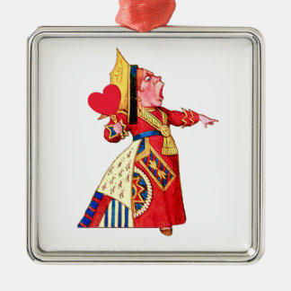 ¡La reina de los gritos de los corazones apagado Ornamentos De Reyes