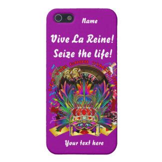 La reina de Vegas ve por favor comentarios del art iPhone 5 Coberturas
