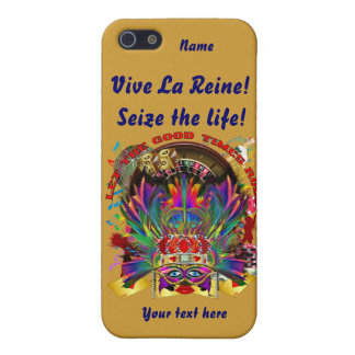 La reina de Vegas ve por favor comentarios del art iPhone 5 Fundas