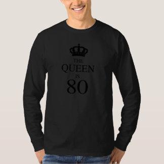 La reina es 80 camiseta
