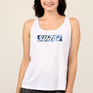 La Relámpago-Oleada azul, siente el poder Camiseta De Tirantes