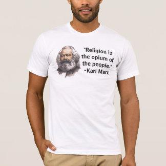 """La """"religión es el opio de la gente."""" Camiseta"""