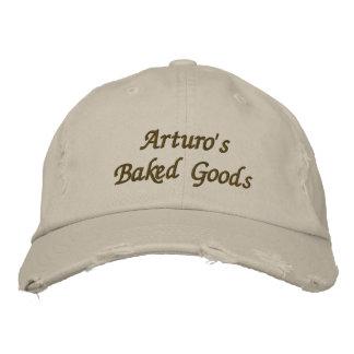 La repostería y pastelería y más de Arturo Gorra Bordada
