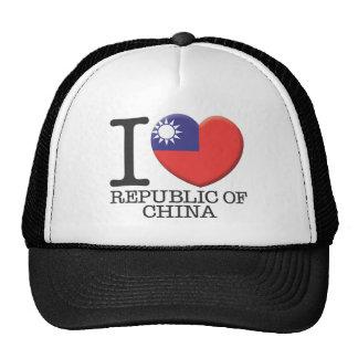 La República de China Gorro De Camionero