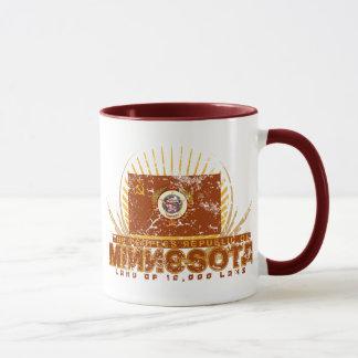 La república popular de la taza de Minnesota