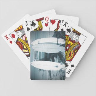 La resaca 3 tablas hawaianas tiembla la tabla barajas de cartas