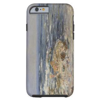 La resaca atlántica, 1899 (aceite en lona) funda resistente iPhone 6