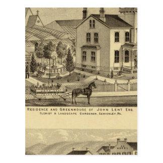 La residencia y el invernadero de Juan prestaron S Postal