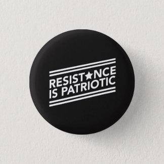 Chapa Redonda De 2,5 Cm La resistencia es botón patriótico