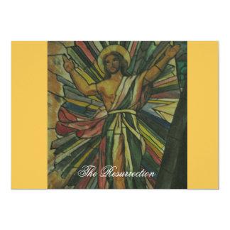 La resurrección invitación 12,7 x 17,8 cm