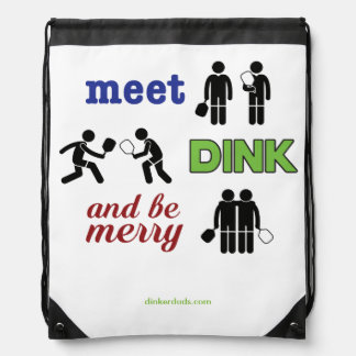"""La """"reunión, Dink, y sea feliz"""" mochila de"""