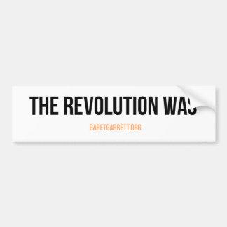 La revolución era pegatina