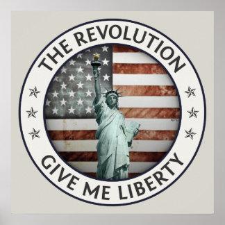 La revolución poster