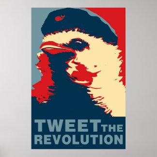 La revolución será tipo piado poster de Obama