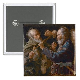 La reyerta de los mendigos, c.1625-30 (aceite en l pin