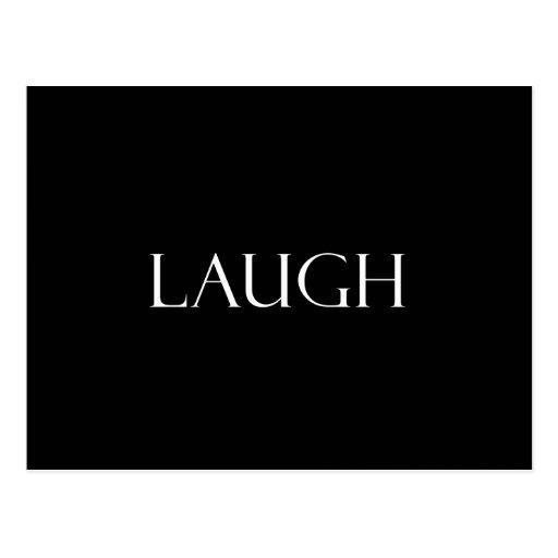 La risa cita cita inspirada de la risa tarjetas postales