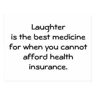La risa es la mejor medicina para cuando usted 01 tarjetas postales
